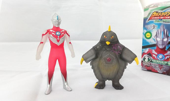 ウルトラマンオーブ激闘編(3)ウルトラマンオーブ(オリジン・ザ・ファースト)VS クグツベムスター
