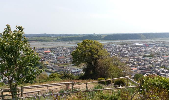 白岩寺公園からの景色