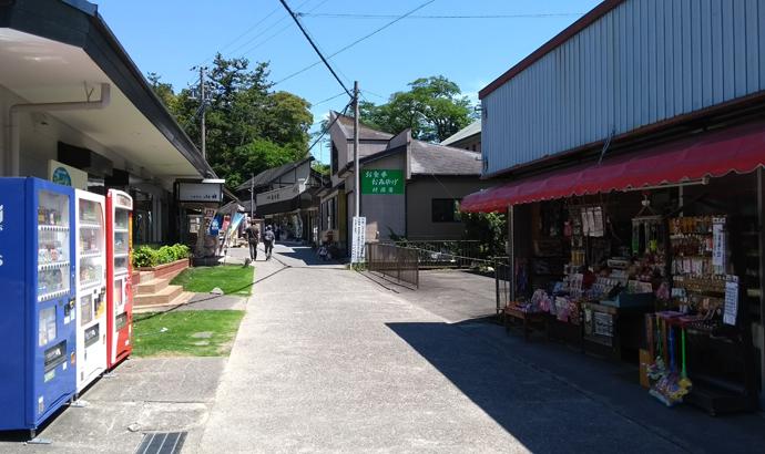 法多山 門前町の土産物屋