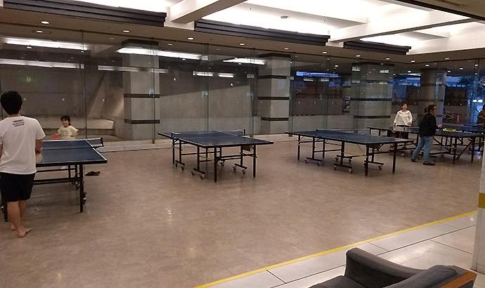 熱海ニューフジヤホテル 卓球場